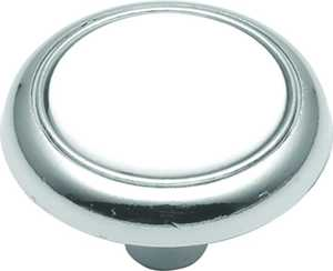 Hickory Hardware P710-CH 1-1/4-Inch Chrome Eclipse Cabinet Knob