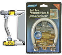 Camco 35983 Quick-Turn Permanent By-Pass Kit