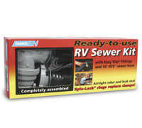 Camco 39551 Easy Slip Ready-to-Use RV Sewer Kit