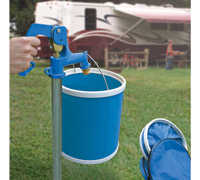 Camco 42993 RV Collapsible Bucket, Blue