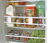 Camco 44073 Double Refrigerator Bar 16 in - 28 in