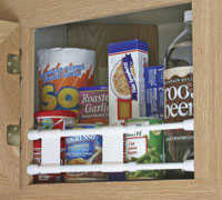 Camco 44093 Double Cupboard Bar 10 in - 17 in