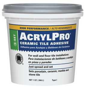 Custom Building Products ARL4000QT Adhesive Mastic Tile Ceramic Qt