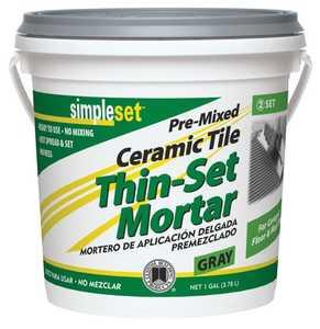 Custom Building Products CTTSG1 Thin-Set Tile Ceramic Premix Gal