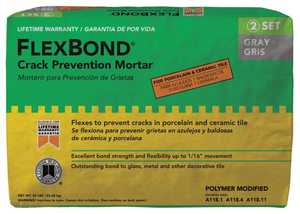 Custom Building Products FB50 Thin-Set Mortar Flexbond Gray 50#