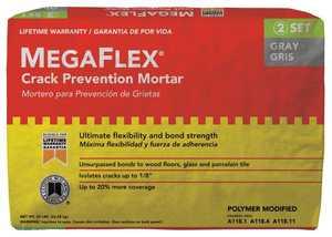 Custom Building Products MFMG50 Mega Flex Thin-Set Gray 50lb