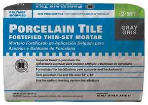 Custom Building Products PMG50 Mortar Thin-Set Porcelain Tile 50lb