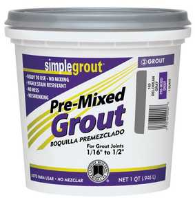 Custom Building Products PMG381QT Simple Grout #381 Bright White Qt
