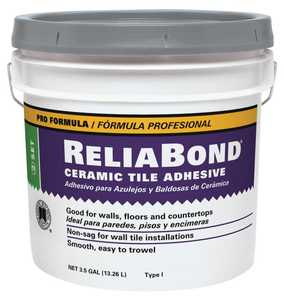Custom Building Products RBM3 Mastic Tile Reliabond 3.5 Gal