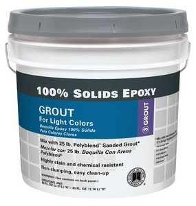 Custom Building Products SEGW Epoxy Grout Solid White Gal