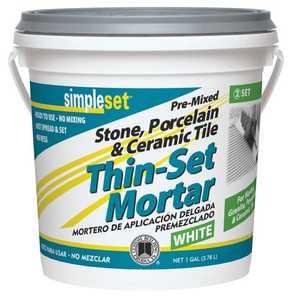 Custom Building Products STTSW1-2 Thin-Set Mortar Tile Ceramic Gal