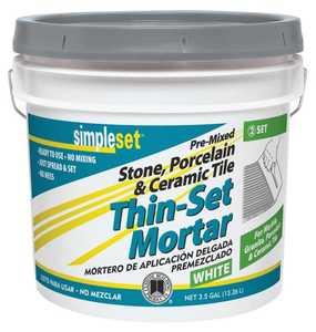 Custom Building Products STTSW3 Thin-Set Mortar Tile Ceramic 3.5 Gal