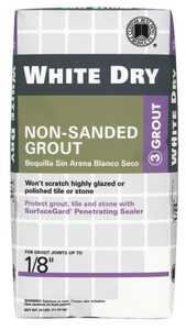 Custom Building Products WDG25 Dry Grout Non-Sand White 25#