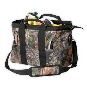 Custom Leathercraft 1165M 16-Inch Mossy Oak Big Mouth Bag