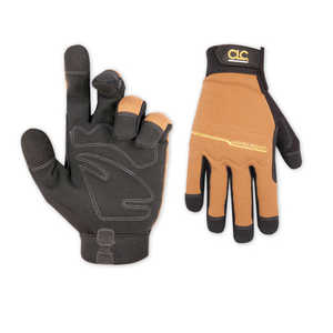Custom Leathercraft 124L Glove Hi Dexterity Work Right L