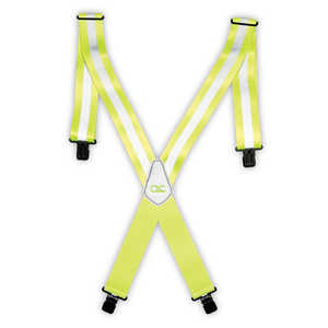 Custom Leathercraft 14110 Hi-Visibility Suspenders