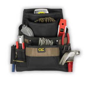 Custom Leathercraft 1620 11-Pocket Polyester Nail And Tool Bag