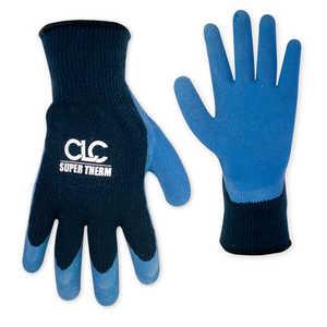 Custom Leathercraft 2032M Glove Super Therm Gripper Latex Medium
