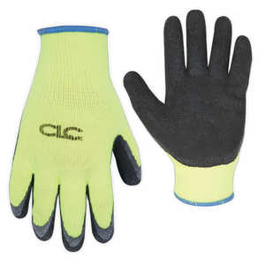 Custom Leathercraft 2339L Glove Hi Vis Cold Weather Latex