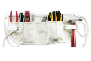 Custom Leathercraft C12 5-Pocket Canvas Waist Apron