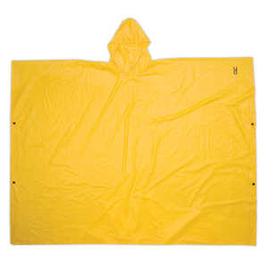 Custom Leathercraft R10410 Poncho .10mm Pvc Yellow