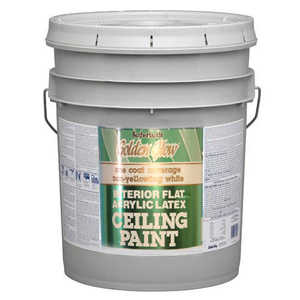 Davis Paint 0.05551 Golden Glow White Ceiling Paint 5 Gal