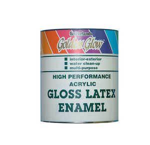 Davis Paint 0.50443 High Performance Interior/Exterior Gloss Latex Enamel Quart