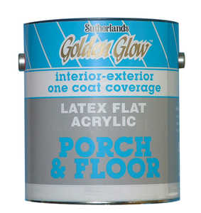 Davis Paint 0.56502 Flat Porch & Floor Enamel White Gallon