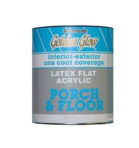 Davis Paint 0.56593 Flat Porch & Floor Enamel French Grey Quart
