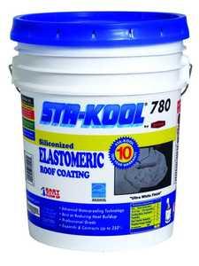 Gardner-Gibson SK7805 Sta-Kool 780/10yr Elastomeric White 4.75 Gal