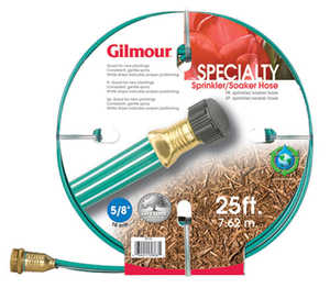 Gilmour 27141 Three Tube Sprinkler/Soaker Hose 25 ft