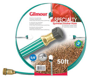 Gilmour 27142 Three Tube Sprinkler/Soaker Hose 50 ft