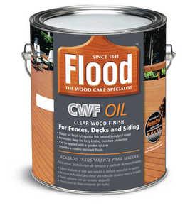 Flood FLD447-01 Cwf Oil Clear Wood Finish Gal