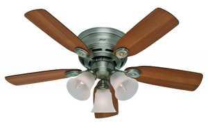 Hunter 23857 42 in Antique Pewter Ceiling Fan