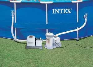Intex Recreation 54601EG Saltwater System Krystal Clear