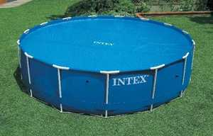 Intex Recreation 59955E Solar Pool Cover For 18 ft Round Pools