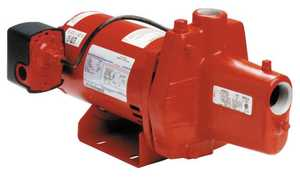 Red Lion RJS-50E Pump Jet Shallow Well 1/2hp Cast Iron