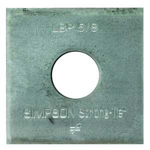 Simpson Strong-Tie LBP 5/8 Plate Bearing Light 5/8 in