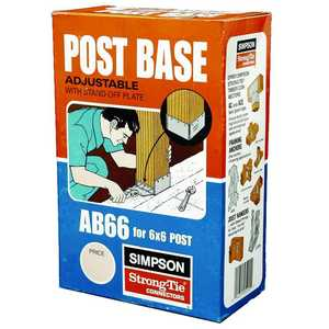 Simpson Strong-Tie AB66 Post Base 6x6