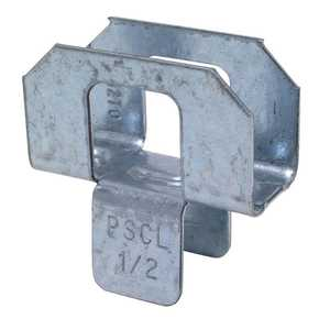 Simpson Strong-Tie PSCL 1/2 Plywood Clip 1/2 in Steel Each
