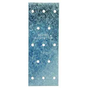 Simpson Strong-Tie TP15 1-13/16-Inch X 5-Inch 20-Gauge Galvanized Tie Plate