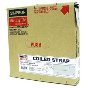 Simpson Strong-Tie CS20-R Coiled Strap Rough