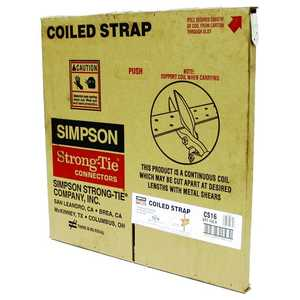 Simpson Strong-Tie CS16 Coiled Strap 150 ft