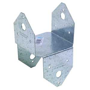 Simpson Strong-Tie BC4Z 18-Gauge Zmax Galvanized Post Cap