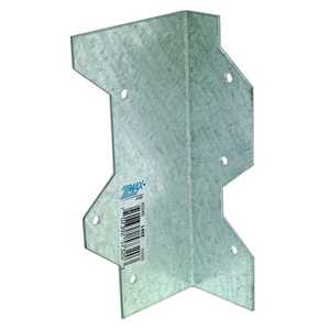 Simpson Strong-Tie L50Z 5-Inch 16-Gauge Zmax Galvanized Reinforcing Angle