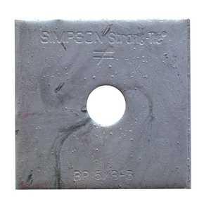 Simpson Strong-Tie BP 5/8-3 5/8-Inch 3-Gauge Bearing Plate