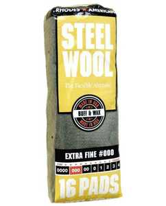 Homax Group 106601-06 Extra Fine Steel Wool #000