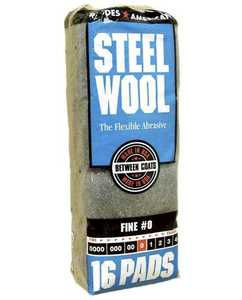 Homax Group 106603-06 Fine Steel Wool #0