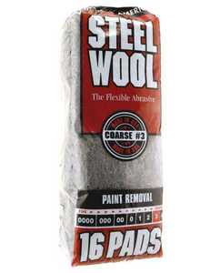Homax Group 106606-06 Course Steel Wool #3
