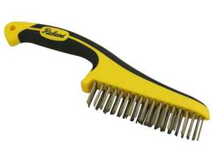 Richard Tools 03233 Ergo Grip Wire Brush 10b 1-1/8 Stainless